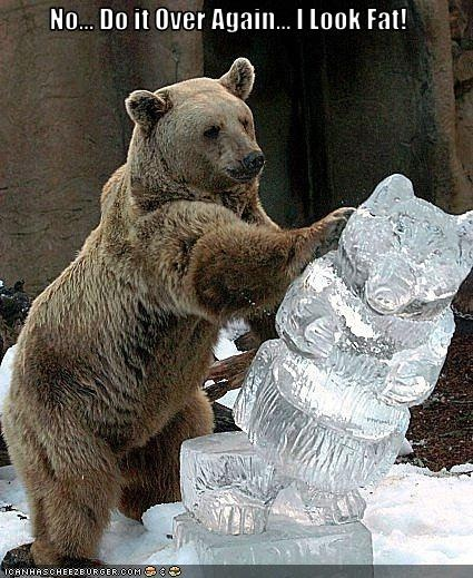 funny-pictures-bear-dislikes-ice-sculpture